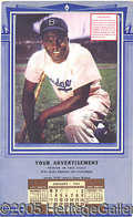 Miscellaneous, JACKIE ROBINSON CALENDAR. Well, not really a 'calendar,' but ins...