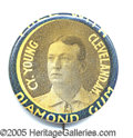 Miscellaneous, DIAMOND GUM CY YOUNG PIN. About the same time as the great inund...