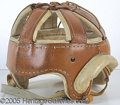 Miscellaneous, EARLY LEATHER HELMET. At the turn of the century, one ofthe&nbs...