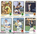 Miscellaneous, 1973 TOPPS NEAR SET. We introduce thisby noting that it...