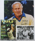 Miscellaneous, ARNOLD PALMER AUTOGRAPHED GROUP. The last several years has witn...