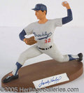 Miscellaneous, SALVINO SANDY KOUFAX FIGURINE. Though yet highly attractive...