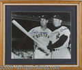 Miscellaneous, WILLIAMS AND MANTLE AUTOGRAPHED PHOTO. The magnificently crafted...