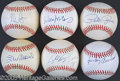 Miscellaneous, SINGLE SIGNED BASEBALL COLLECTION. This expansive collection of ...