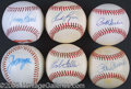 Miscellaneous, LARGE COLLECTION OF SINGLE SIGNED BALLS. There are a total of 38...