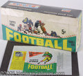 Miscellaneous, 1964 TOPPS 5C FOOTBALL DISPLAY BOX AND WRAPPER (8 CARD VARIATION...