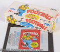 Miscellaneous, 1960 5C FOOTBALL DISPLAY BOX AND WRAPPER. When you think of a wh...