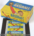 Miscellaneous, 1955 BOWMAN 1C DISPLAY BOX AND WRAPPER. Let's start with the wra...