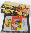 Miscellaneous, 1958 CANADIAN 5C FOOTBALL BOX AND WRAPPER. This is an exceptiona...