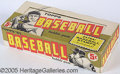 Miscellaneous, 1961 TOPPS BASEBALL 5C DISPLAY BOX. This box once held 24-five c...