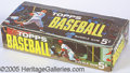 Miscellaneous, 1963 TOPPS BASEBALL 5C BOX WITH STAN MUSIAL. This is one of the ...