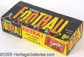 Miscellaneous, 1961 TOPPS 5C FOOTBALL DISPLAY BOX. This is one of the more elus...