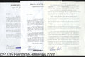 Miscellaneous, PERSONAL APPEARANCE CONTRACTS SIGNED BY NORM CASH, MEL ALLEN, &...