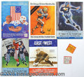 Miscellaneous, THE ALL STARS VS THE NFL. Among its many virtues, the Chicago Tr...
