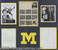 "Miscellaneous, TOM HARMON DISPLAY. Framed to an impressive 34"" x 30"" is this hi..."