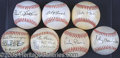 Miscellaneous, COLLECTION OF CINCINNATI REDS BALLS. Of this group ofseven&nbsp...