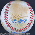 Miscellaneous, HOF SIGNED BALL W/13 SIGNATURES. Bobby Brown official AL ball...