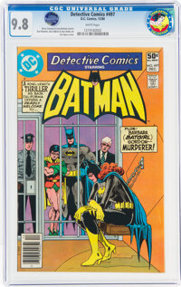 Detective Comics #497 - From the Charleston Collection (DC, 1980) CGC NM/MT 9.8 White pages