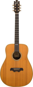 Musical Instruments:Acoustic Guitars, 1980 Bozo Glass-Back Natural Acoustic Guitar, Serial #10.. ...