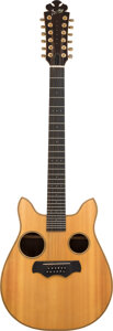 Musical Instruments:Acoustic Guitars, 1979 Bozo Owl Natural 12 String Acoustic Guitar, Serial #1 407-79.. ...