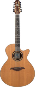 Musical Instruments:Acoustic Guitars, 1998 Berkowitz 125 TG Prototype Natural 12 String Acoustic Guitar, Serial #9807J1201.. ...