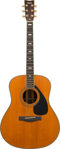 Musical Instruments:Acoustic Guitars, Tommy Tedesco's circa 1980's Yamaha L-25AT Acoustic Guitar, Serial #1008200.. ...