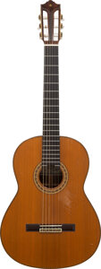 Musical Instruments:Acoustic Guitars, Tommy Tedesco's 1977 Yamaha GC-30A Natural Classical Guitar, Serial #D273.. ...
