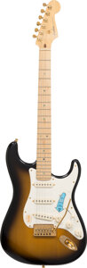 Musical Instruments:Electric Guitars, 2004 Fender 50th Anniversary Stratocaster Sunburst Solid Body Electric Guitar, Serial #DZ4123097.. ...