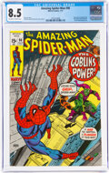 Bronze Age (1970-1979):Superhero, The Amazing Spider-Man #98 (Marvel, 1971) CGC VF+ 8.5 Off-white to white pages....