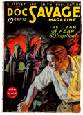 Pulps:Hero, Doc Savage - November 1933 (Street & Smith) Condition: Apparent VG....