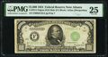 Fr. 2211-F $1,000 1934 Mule Federal Reserve Note. PMG Very Fine 25