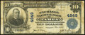 Tampa, FL - $10 1902 Plain Back Fr. 631 The Exchange National Bank Ch. # 4949 Fine