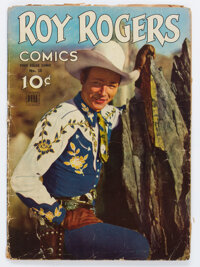 Four Color #38 Roy Rogers (Dell, 1944) Condition: GD