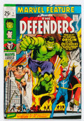 Bronze Age (1970-1979):Superhero, Marvel Feature #1 The Defenders (Marvel, 1971) Condition: VG....