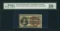 Fractional Currency:Fourth Issue, Fr. 1258 10¢ Fourth Issue PMG Choice About Unc 58 EPQ.. ...
