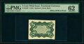 Fractional Currency:Third Issue, Milton 3E5R.1a 5¢ Third Issue Bristol Board Proof PMG Uncirculated 62.. ...