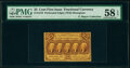 Fractional Currency:First Issue, Fr. 1279(a?) 25¢ First Issue Perf. 16 PMG Choice About Unc 58 EPQ.. ...