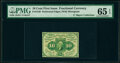 Fractional Currency:First Issue, Fr. 1240(a?) 10¢ First Issue Perf. 16 PMG Gem Uncirculated 65 EPQ.. ...