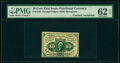 Fractional Currency:First Issue, Fr. 1242 10¢ First Issue Courtesy Autograph PMG Uncirculated 62 EPQ.. ...
