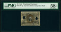 Fractional Currency:Second Issue, Milton 2E10F.2g 10¢ Second Issue PMG Choice About Unc 58 EPQ, 2 POCs.. ...