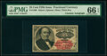 Fractional Currency:Fifth Issue, Fr. 1309 25¢ Fifth Issue Courtesy Autograph PMG Gem Uncirculated 66 EPQ.. ...