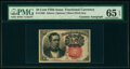 Fractional Currency:Fifth Issue, Fr. 1266 10¢ Fifth Issue Courtesy Autograph PMG Gem Uncirculated 65 EPQ.. ...