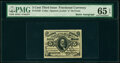 Fractional Currency:Third Issue, Fr. 1239 5¢ Third Issue Courtesy Autograph PMG Gem Uncirculated 65 EPQ.. ...