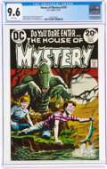 Silver Age (1956-1969):Horror, House of Mystery #219 (DC, 1973) CGC NM+ 9.6 White pages....