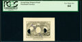 Fractional Currency:Second Issue, Similar to Milton 2E5F.2e No Denomination Second Issue Progress Proof PCGS Very Choice New 64, 2 POCs.. ...