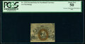Fractional Currency:Second Issue, Fr. 1232 5¢ Second Issue Treasury Rectangle PCGS About New 50.. ...
