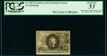 Fractional Currency:Second Issue, Fr. 1283 25¢ Second Issue PCGS About New 53.. ...