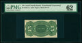 Milton S15R.1a 15¢ Fourth Issue Proof PMG Uncirculated 62