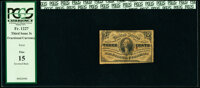 Fr. 1227 3¢ Third Issue Inverted Back PCGS Fine 15