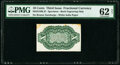 Fractional Currency:Third Issue, Milton 3S10R.2f 10¢ Third Issue PMG Uncirculated 62 Net.. ...
